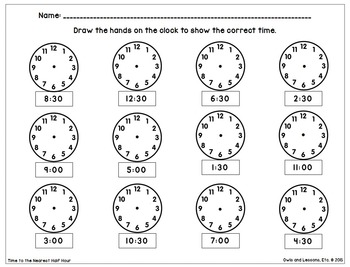 Sometimes You Just Need a Worksheet - Time to 5 Minutes