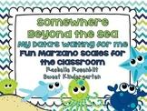 Somewhere Beyond the Sea {Fun classroom Marzano Scales}