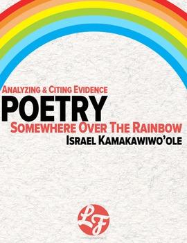 Somewhere Over The Rainbow (Common Core Poetry)