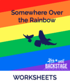 Somewhere Over the Rainbow - Worksheets (Compound Words)