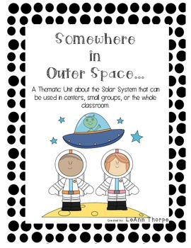 Somewhere in Outer Space:  Activities for Our Solar System