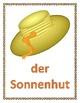 Sommer (Summer in German) Posters