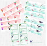 Sommerferiengrüße / Summer Holiday Greeting Cards
