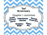 """""""Son"""" by Lois Lowry - Chapter 1 Guide - Complete Interactive Student Journal"""