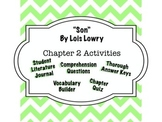 """Son"" by Lois Lowry - Chapter 2 Guide - Complete Interactive Student Journal"