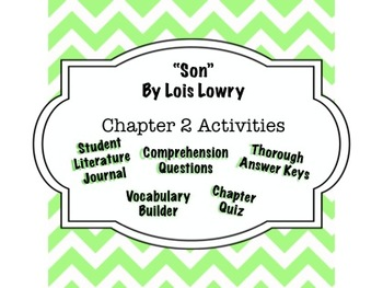 """Son"" by Lois Lowry - Chapter 2 Guide - Complete Interacti"