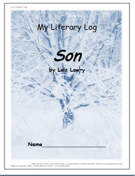 Son Novel Study Discussion & Activity Guide