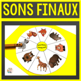 Son final (conscience phonologique - 7 roues d'images)