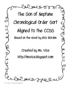 Son of Neptune Chronological Order Sort