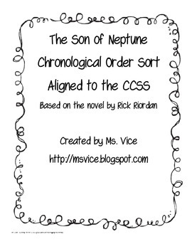 Son of Neptune Chronological Order Sort