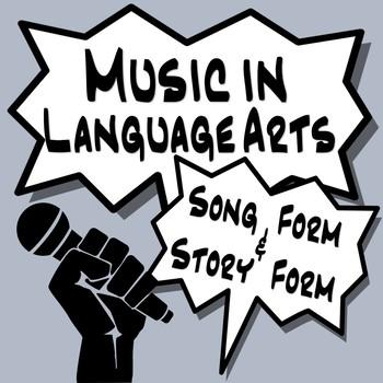 Music in Language Arts- Sonata Form & Stories  *Preview Video in Description*