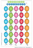 Søndagsoverraskelse H15 - Kostbare ballonger E