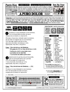 Spanish Song: A Puro Dolor