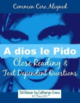 """Spanish Song: """"A dios le pido"""" Present subjunctive"""