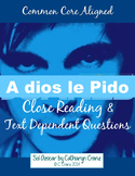 "Spanish Song: ""A dios le pido"" Present subjunctive"