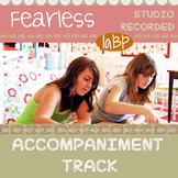Song Accompaniment track and chord chart: Fearless