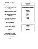 Song Activity- Eres Tú- Mocedades