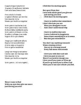 Song Activity-Limón y Sal