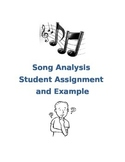 Song Analysis Assignment and Example