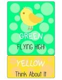 Song Bird Behavior Clip Chart
