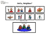 "Song Board - Dr. Jean's ""Hello, Neighbor"""