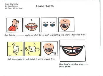 """Song Board - Loose Tooth/Dr. Jean CD """"All Day Long""""/Dental"""