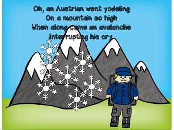 Song Book - An Austrian Went Yodeling