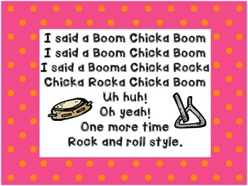 Song Book - Boom Chicka Book