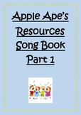 Song Book Part 1