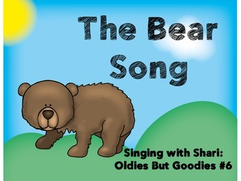 Song Book - The Bear Song