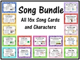 Song Bundle 16x Cards and Characters