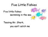 Song Chart: Five Little Fishies
