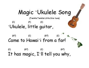Song Chart: Magic Ukulele