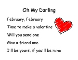Song Chart: Oh My Darling, Valentine