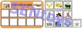 Song Choices Photo PECS Board. Autism Aspergers ABA Resource ASD SEN