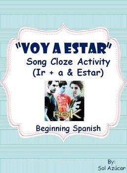 Spanish Song - Voy a estar - Present tense ir & estar