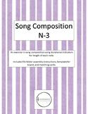 Song Composition - Novice-3 File Folder