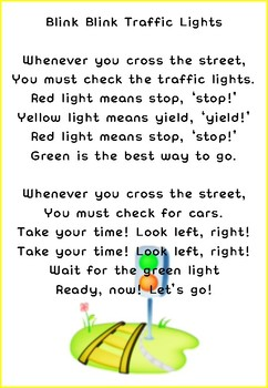 Song & Dance - Traffic light song