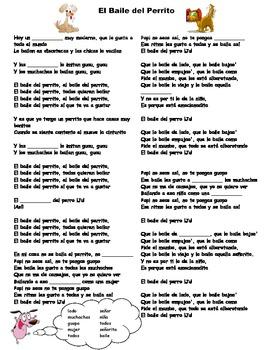 Canción - El Baile del Perrito by Wilfrido Vargas