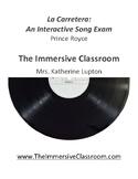 Song Exam: La Carretera by Prince Royce