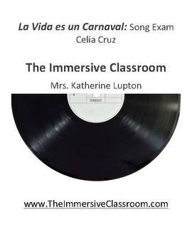 Song Exam: La Vida es un Carnaval by Celia Cruz
