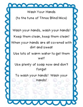 Song Freebie: Wash Your Hands!