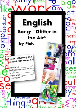 ESL/English: Song: Glitter in the Air