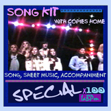 Choir and music class song kit: Special