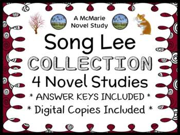 Song Lee COLLECTION (Suzy Kline) All 4 Novel Studies (79 pages)