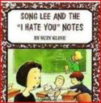 Song Lee and the I Hate You Notes Book Club Packet
