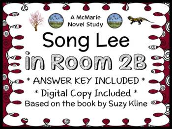 Song Lee in Room 2B (Suzy Kline) Novel Study / Comprehensi