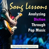Song Lessons: Analyzing Diction Through Pop Music