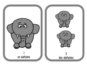 Song: Los Elefantes {Mp3, props & memory game}