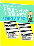 Song Lyric Figurative Language Search